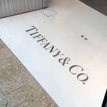 Tiffany Door Floor Inlay