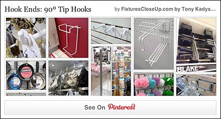 90º Tip Hooks Pinterest Board for FixturesCloseUp
