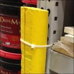 Bumper Guard for Pallet Rack Detail