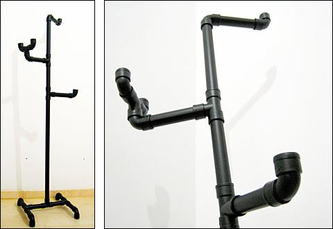 DIY PVC Clothing Rack Main Composite in Spanish