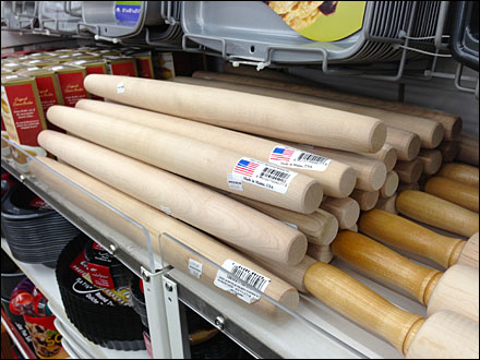 French Rolling Pin Made in USA Main