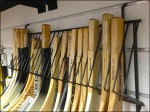 Hockey Blade Slatwall Rack Detail