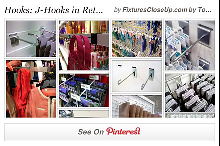 J-Hook Pinterest Board for FixturesCloseUp