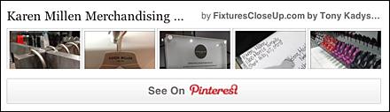 Karen Millen Fixtures Pinterest Board on FixturesCloseUp