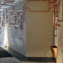 mood 3 copper pipe to water fountain