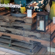 Pallet Merchandising Crate and Barrel 3