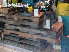 Pallet Merchandising Crate and Barrel 3