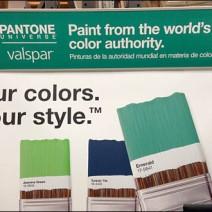 Pantone Color Paint or Valspar Main