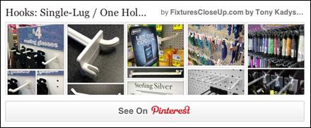 Single Lug One Hole Hook Pinterest Board for FixturesCloseUp