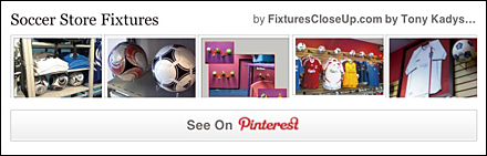Soccer Store Fixtures Pinterest Board for Fixtures Close Up