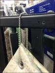 Ball and Chain Carpet Tether Closeup