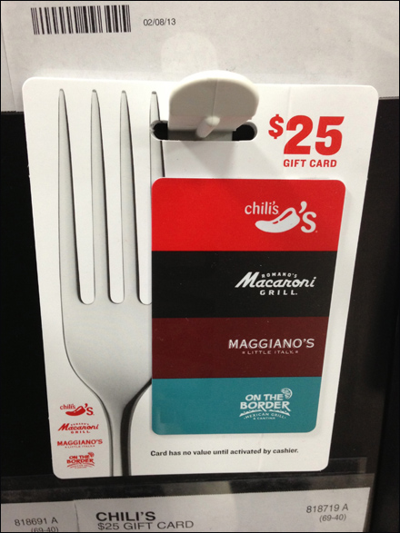 Forked Gift Card Main