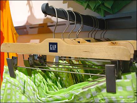 Gap Branded Clothes Hanger Overview