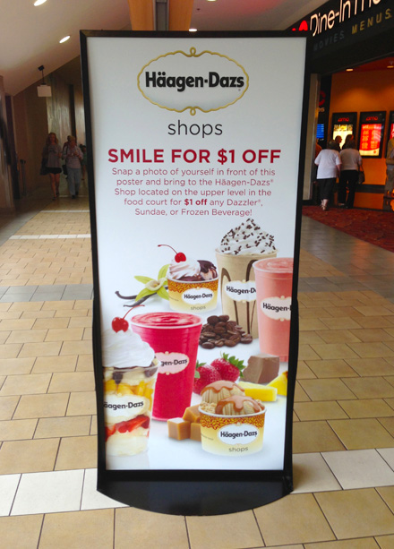 Haagen-Dazs Hot Weather Promo Main