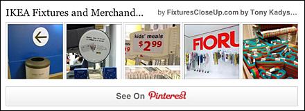 IKEA Fixtures Pinterest Board for FixturesCloseUp
