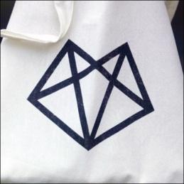 Moxam Branded Shopping Bag Closeup