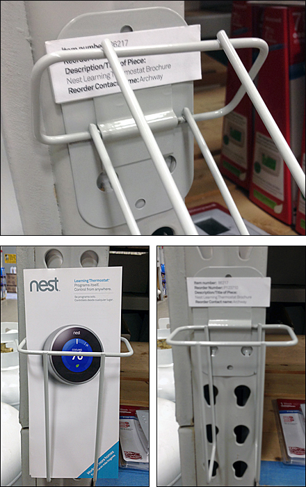 Nest Hinged Literature Holder Main All