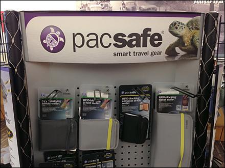 PacSafe Display Header
