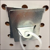 Pegboard Backplate Anchor 1