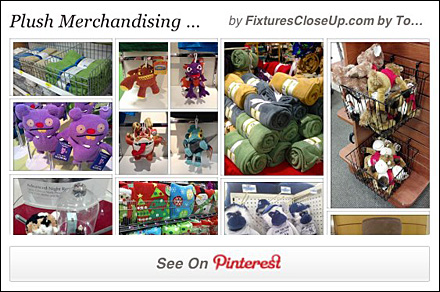 Plush Merchandising Pinterest Board for FixturesCloseUp