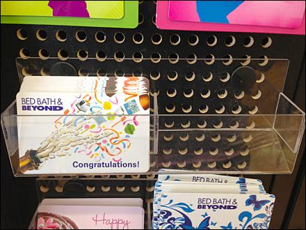 Push Pin Tray for Gift Card Main