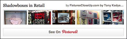 ShadowBoxes FixturesCloseUp Pinterest Board