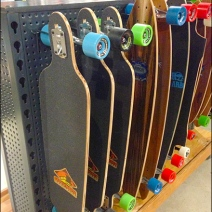 skateboards on All Wire Perfed Metal Hook Main