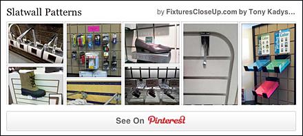 Slatwall Patterns Pinterest Board for FixturesCloseUp