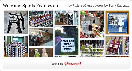 Wine and Spirits Fixtures Pinterest Board for FixturesCloseUp