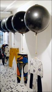 Balloon Based Merchandising Display