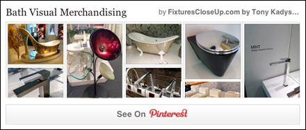 Bath Visual Merchandising FixturesCloseUp Pinterest Board