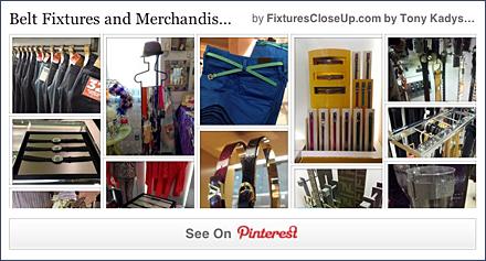 Belt Fixtures & Merchandising Pinterest Board FixturesCloseUp