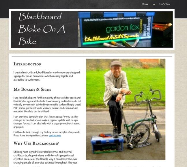 blackboardblokeonabike Main