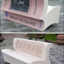 Book Bench Street Art Branding