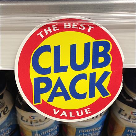 Circular Promo Clip Club Pack Tag