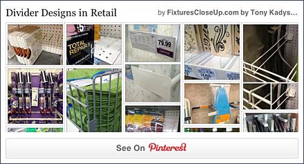 Divider Designs in Retail FixturesCloseUp Pinterest Board