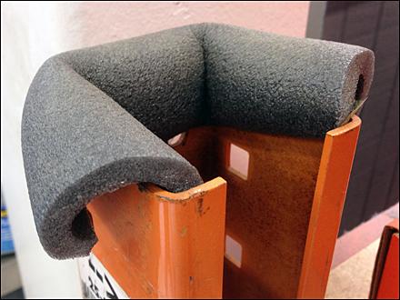 DIY Pallet Rack Safeguard Main