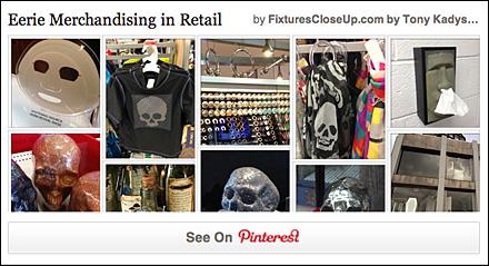 Eerie Merchandising Pinterest Board for FixturesCloseUp