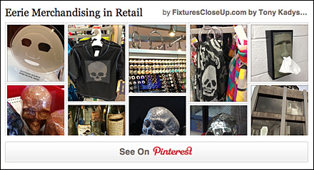 Eerie Merchandising Pinterest Board for FixturesCloseUp