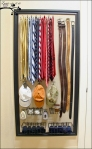 Fabric Covered Pegboard Overall Aux