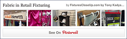 Fabric Retail Fixtures FixturesCloseUp Pinterest Board