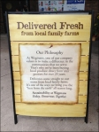 Farm Fresh Delivery Chalkboard Rear