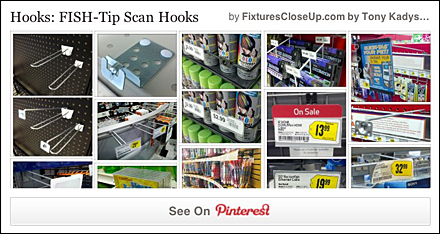 Hooks: Scanning | Fixtures Close Up Retail and P-O-P