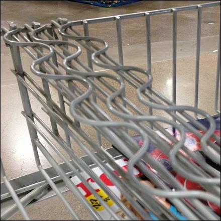 Serpentine Reinforced Wire Dividers Main