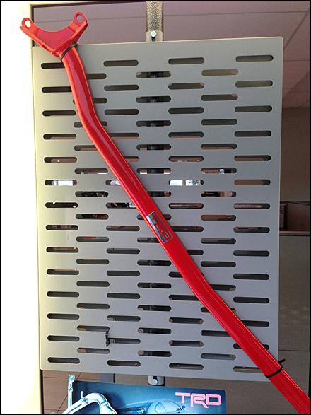 Stabilizer Bar on Slot Wall Main