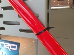 Stabilizer Bar Zip Tie to Slot Wall Aux