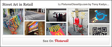 Street Art Pinterest Board for Fixtures Close Up