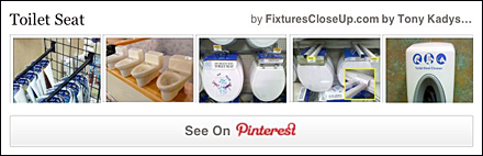 Toilet Seat Pinterest Board for Fixtures Close Up