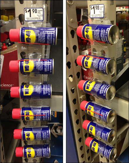 WD-40 Merchandising Strip