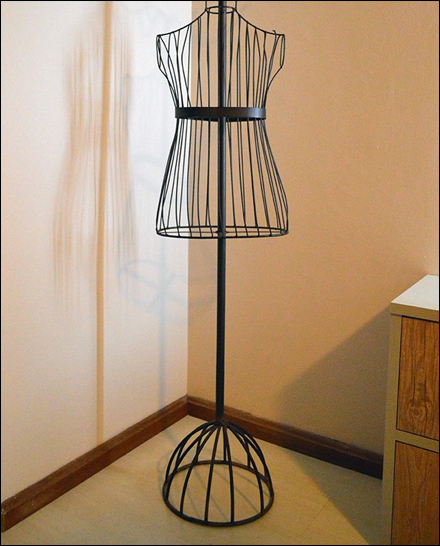 Wire Mannequin Dress Form Main